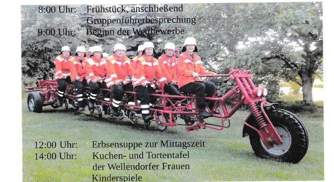 Einladung Kreisfeuerwehrtag in Wellendorf