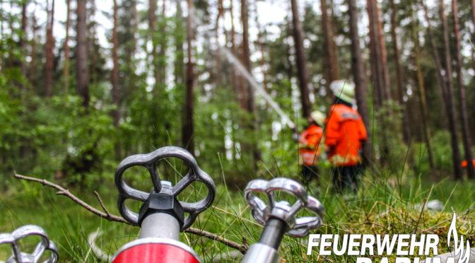 Barumer Ortswehr zur Waldbrandausbildung in Bad Bevensen