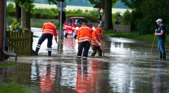 Wetter bedingte Einsätze der Feuerwehr am 1. Juni 2016
