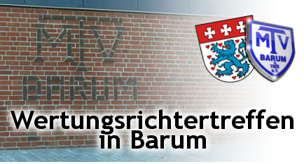 Wertungsrichterkonferenz in Barum