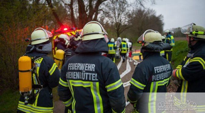 Keine Übung wie jede andere: Gefahrgutzug Nord übt in Ebstorf