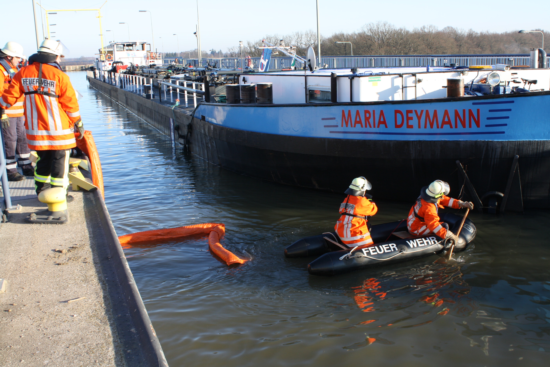 Havarie auf dem Elbe-Seiten-Kanal