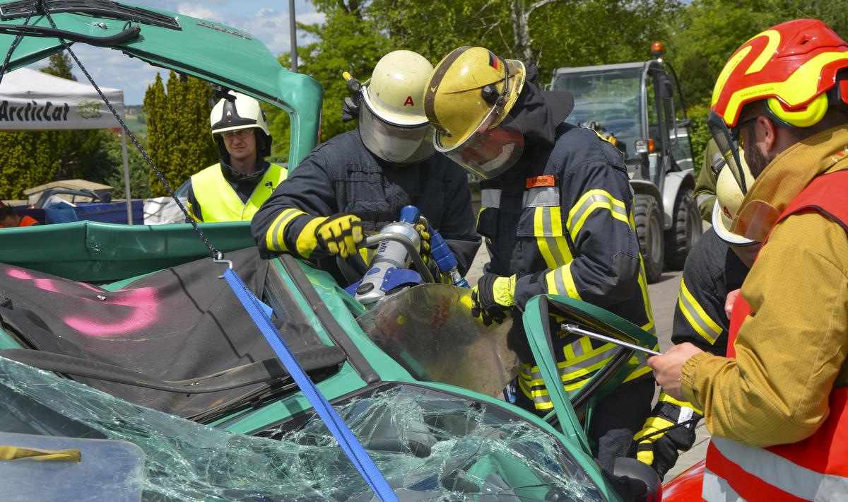 Ebstorfer Kameraden nehmen an Rescue Challenge teil