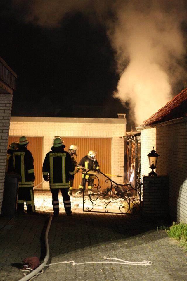 Nächtliche Ruhe durch Brand in Bad Bevensen unterbrochen