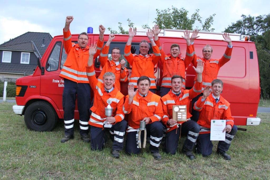 Sieger Stadtwettbewerb - FF Gollern
