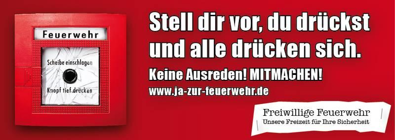Plakat jazurwfeuerwehr