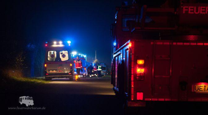 Feuerwehren üben Großeinsatz mit Rettungsdienst