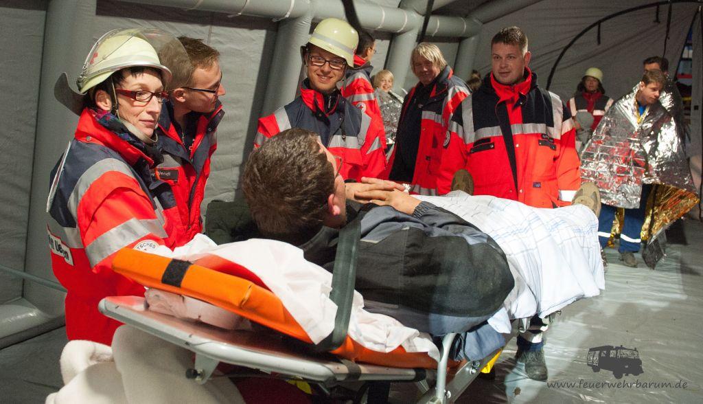 Übung Feuerwehr / Rettungsdienst