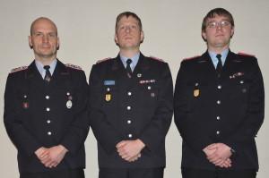 (v.l.n.r.) Cord Drieselmann, Florian Menklein, Stephan Augustin