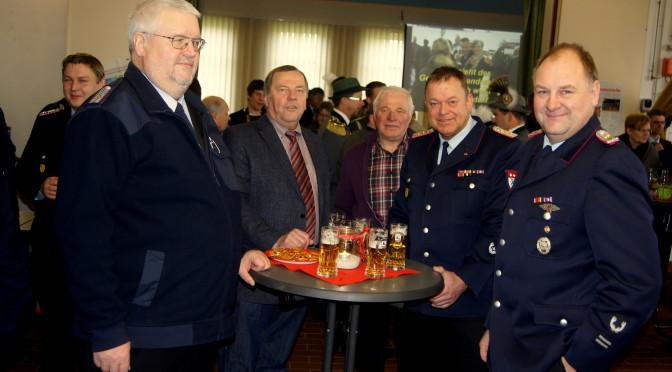 Zum neunten Mal hatte die Feuerwehr Suhlendorf zum Neujahrsempfang ins Feuerwehrhaus eingeladen.