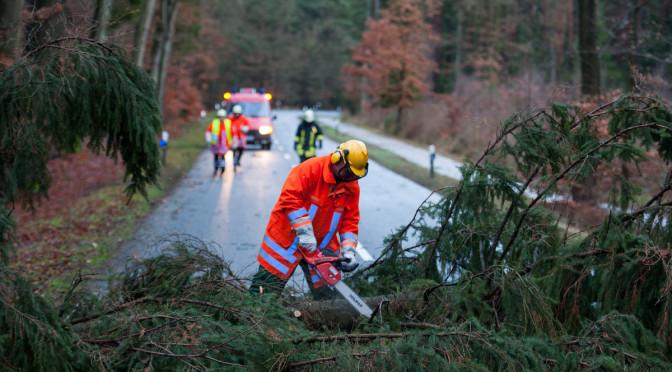 Wetterbedingte Einsätze für Vinstedter Brandschützer