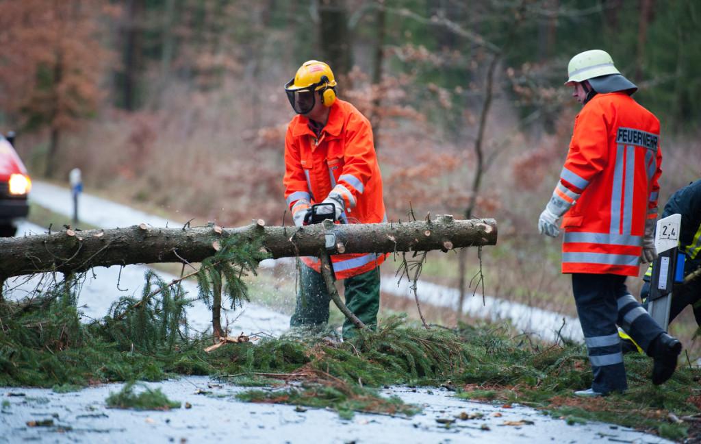 Wetterbedingte Einsätze der Feuerwehr