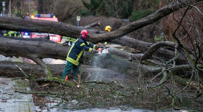 Wetterbedingte Einsätze der Freiwilligen Feuerwehr Klosterflecken Ebstorf
