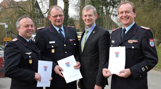Uelzener Kreistag ernennt neue Kreisfeuerwehrführung