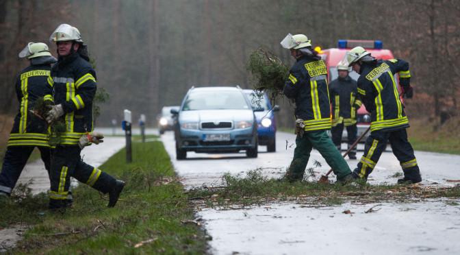 Sturmtief sorgt für Einsätze der Feuerwehr Ebstorf