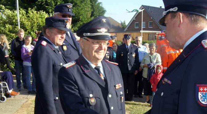 60 Jahre Mitgliedschaft in der Feuerwehr