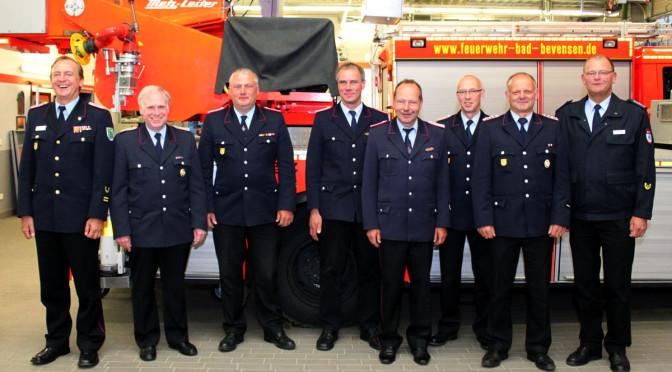 Das Gemeindekommando der Freiwilligen Feuerwehren Bevensen-Ebstorf tagte zum 12. Mal