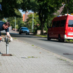 Hydranten Kontrolle / Feuerwehr Ebstorf