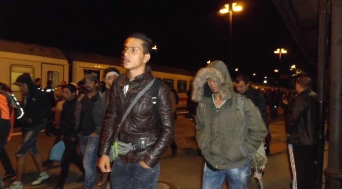 Vierter Flüchtlingszug am Uelzen Bahnhof angekommen