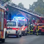 Feuerwehr Einsatz in Melzingen