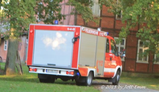 Alarmübung des Zuges Süd der Samtgemeinde Rosche in Dalldorf
