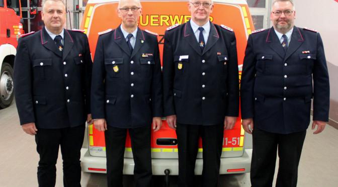 Gemeindekommando der Freiwilligen Feuerwehren Bevensen-Ebstorf trifft sich