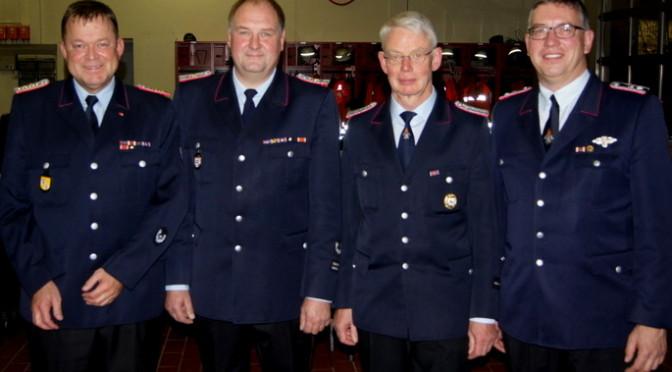 Rosche-Prielips Feuerwehrführung einstimmig  wiedergewählt