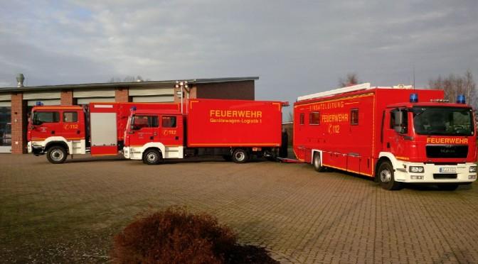 Kreisfeuerwehr erhält neues Logistikfahrzeug
