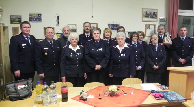 Jahreshauptversammlung der Ortswehr Golste in Natendorf