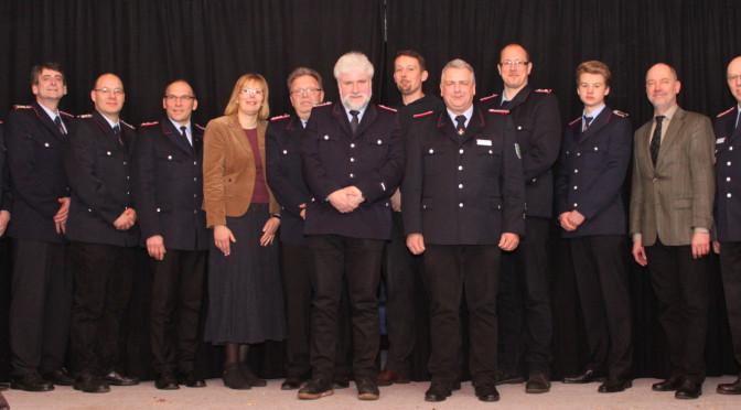 Einsatzreiches Jahr für die Feuerwehr Eddelstorf