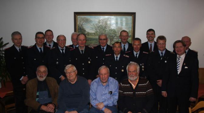 Zahlreiche Ehrungen bei der Generalversammlung der Feuerwehr Hansen