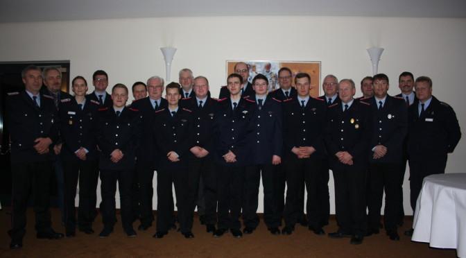80. Jahreshauptversammlung bei der Freiwilligen Feuerwehr Holdenstedt