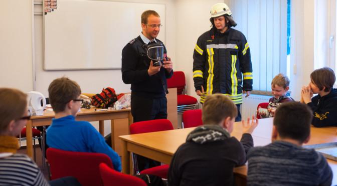 Unterrichtsraum gegen Feuerwache eingetauscht