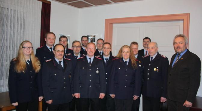 Generalversammlung der Feuerwehr Klein Süstedt
