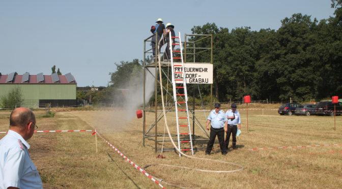 Pokalwettkampf in Grabau – Generalprobe für den Kreisfeuerwehrtag