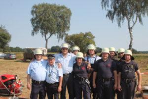 Wettkampfgruppe des Fachzuges Logistik der Kreisfeuerwehrbereitschaft Uelzen
