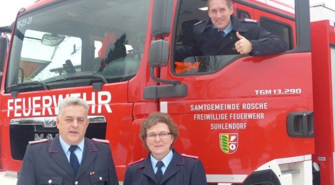 Neujahrsempfang Freiwillige Feuerwehr Suhlendorf