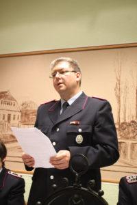 Ortsbrandmeister Udo Hoffmann