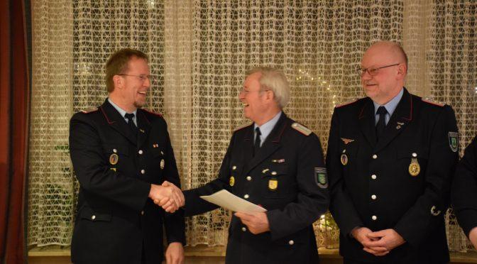 Jahreshauptversammlung von Feuerwehrverein e.V. und der Freiwilligen Feuerwehr Edendorf