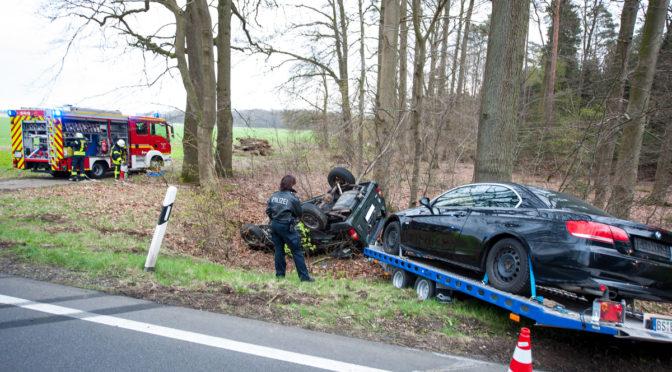 Verkehrsunfall auf der B4 zwischen Holdenstedt und dem Suderburger Kreisel