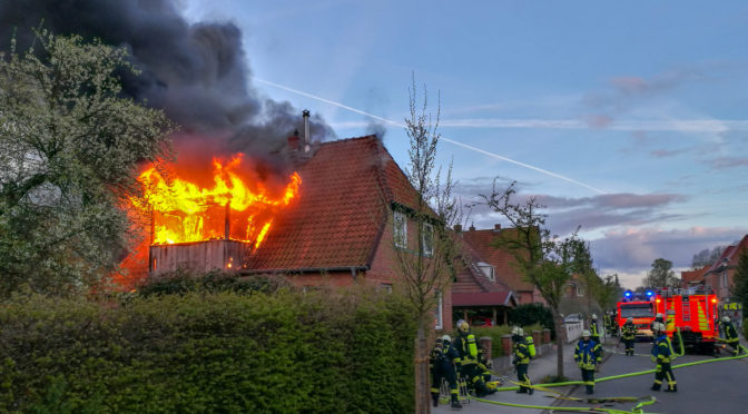Wohnhausbrand in Bad Bevensen