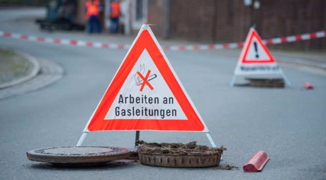 Gasaustritt sorgt für Feuerwehr Einsatz in Wriedel
