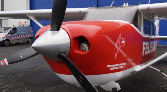 Feuerwehr-Flugdienst wieder einsatzbereit für die bevorstehende Waldbrandsaison