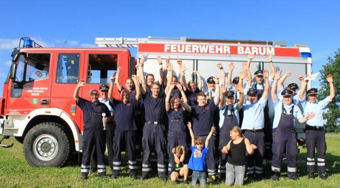 Gemeindeentscheid der Feuerwehren in Drögennottorf