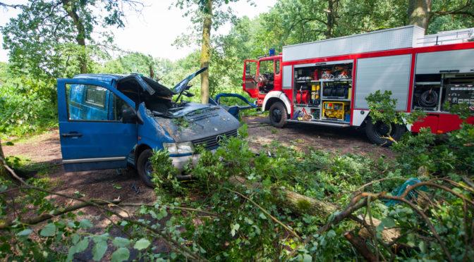 Heftiges Unwetter sorgt für hunderte Feuerwehreinsätze im Kreis Uelzen