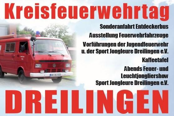 Kreisfeuerwehrtag in Dreilingen