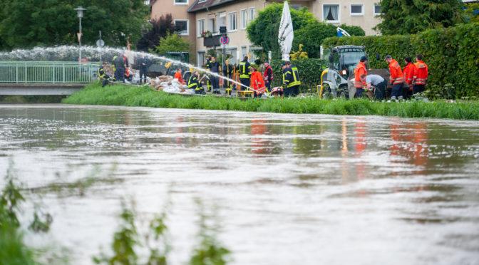Kreisbereitschaft Süd zur nachbarschaftlichen Löschhilfe in Hildesheim