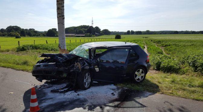 Schwerer Verkehrsunfall in der Einheitsgemeinde Bienenbüttel
