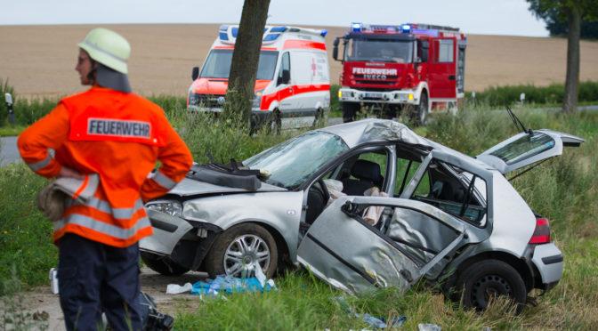 Verkehrsunfall zwischen Barum und Vinstedt
