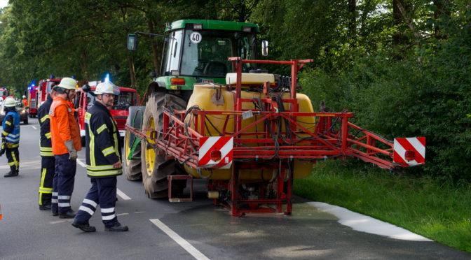 Technischer Defekt sorgt für Einsatz zahlreicher Feuerwehren